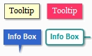 HTML5 Tooltip and Info box